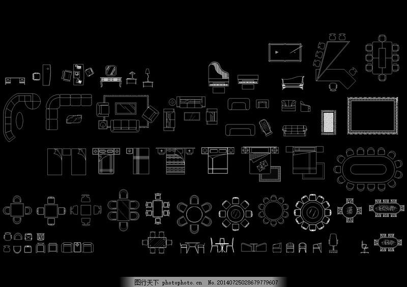 cad模块 cad平面图 cad模块平面图 cad设计 cad模块设计图 dwg 黑色 c