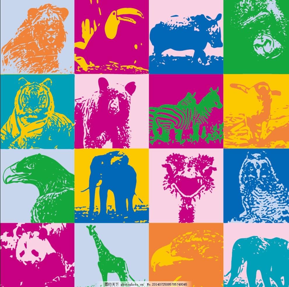 幼儿园主题墙动物框