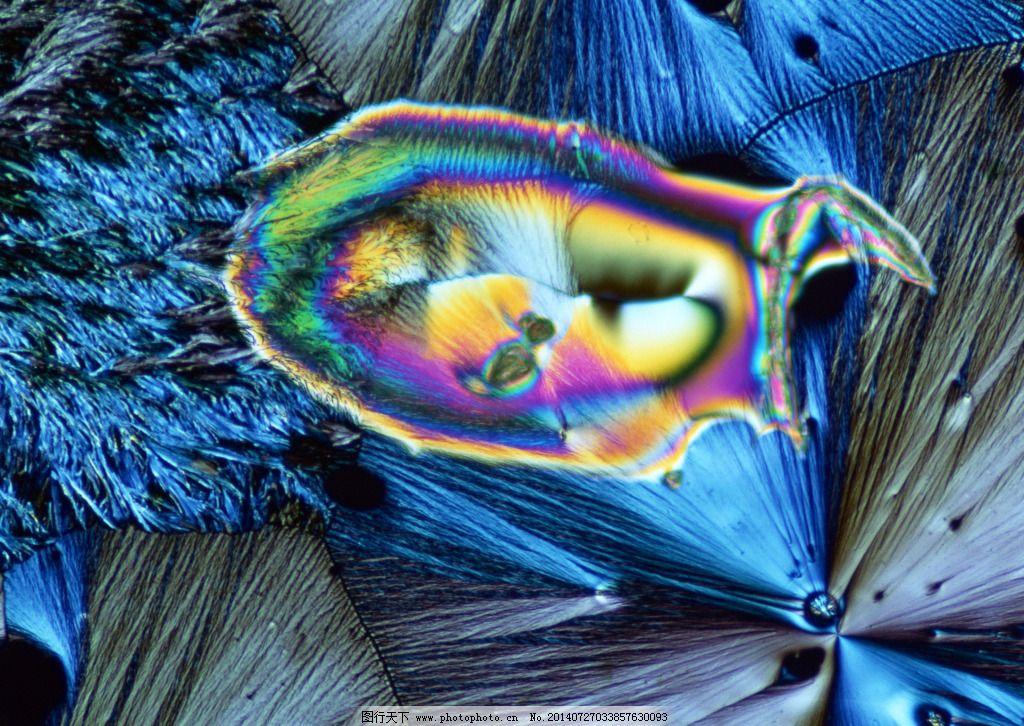 多彩细胞结晶体