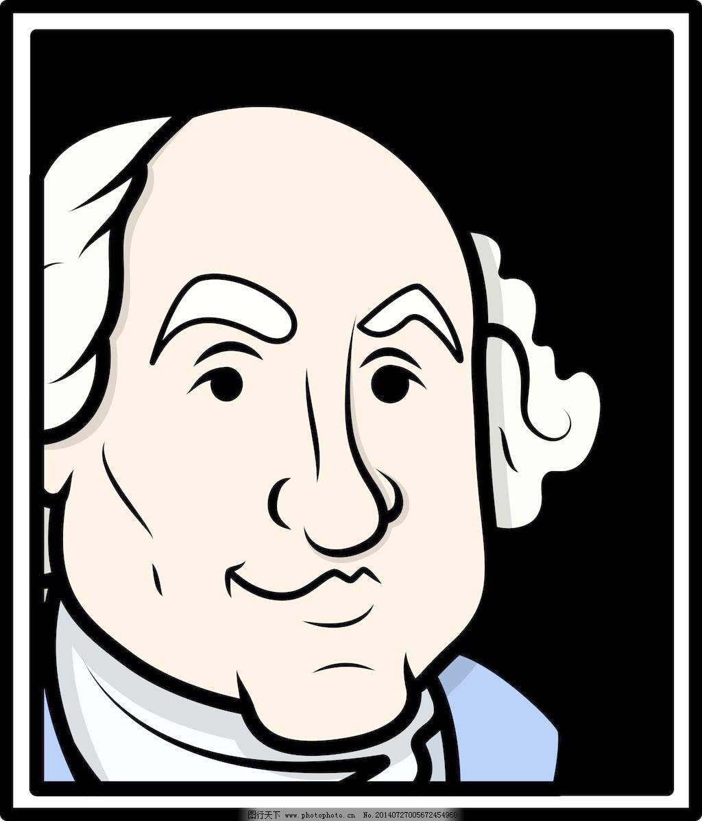 华盛顿 乔治/乔治华盛顿向量