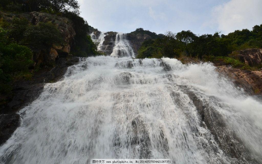 白水寨瀑布 白水寨 瀑布 宏伟 溪流 美图 山水风景 自然景观 摄影 300