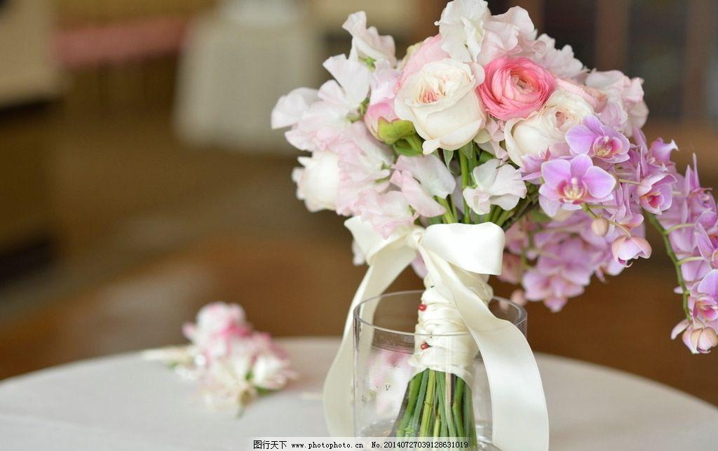 婚礼花束 花朵 成束花 春天 鲜花 摄影