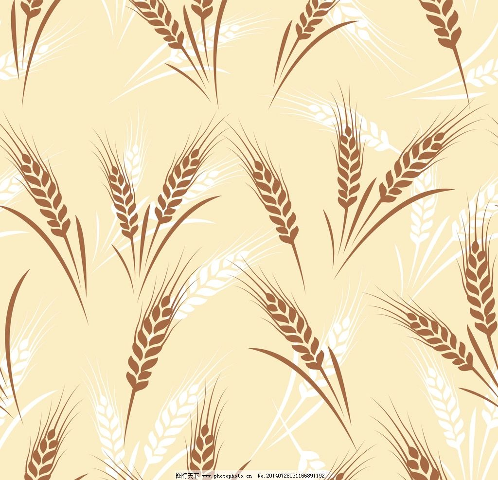 小麦手工制作粘贴画