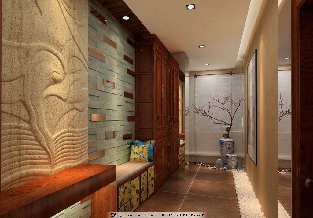 走廊装修设计免费下载 设计装修 室内 走廊 室内 走廊 设计装修 家居