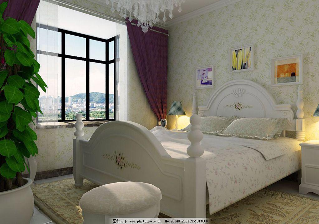 卧室效果图 卧室效果图免费下载 装修 家居装饰素材 室内设计