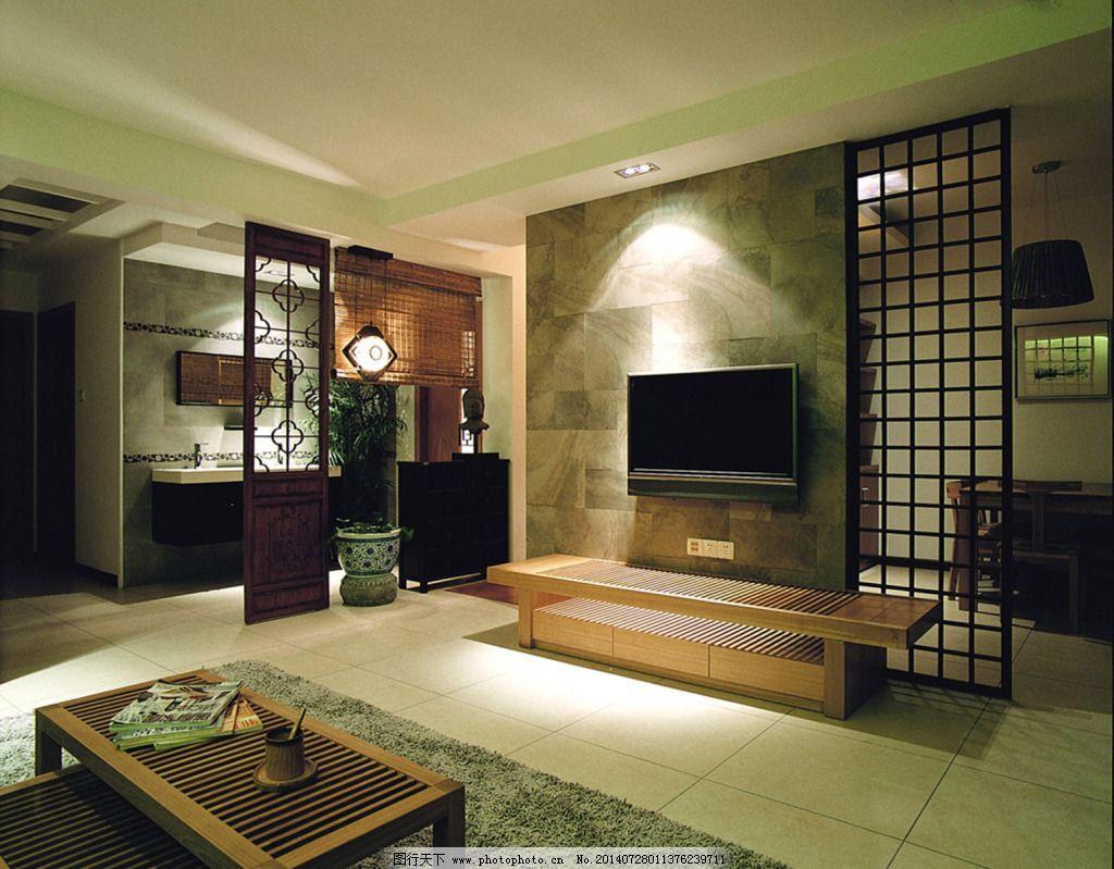 木地板背景墙设计图展示