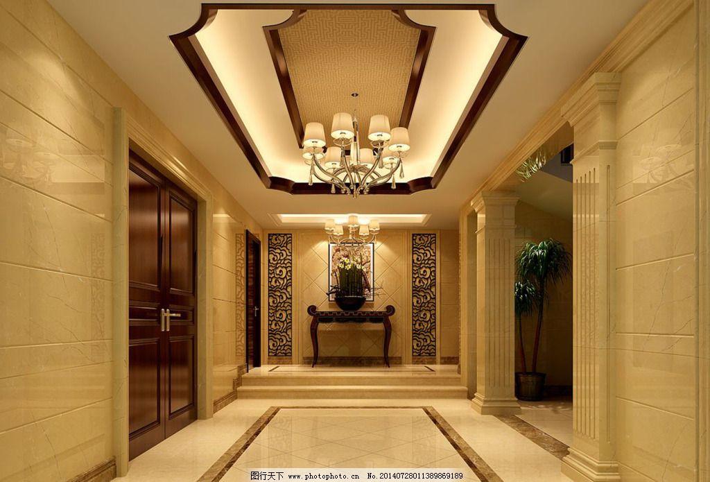 豪华大厅免费下载 豪华 设计 走廊 设计 走廊 豪华 家居装饰素材 室内