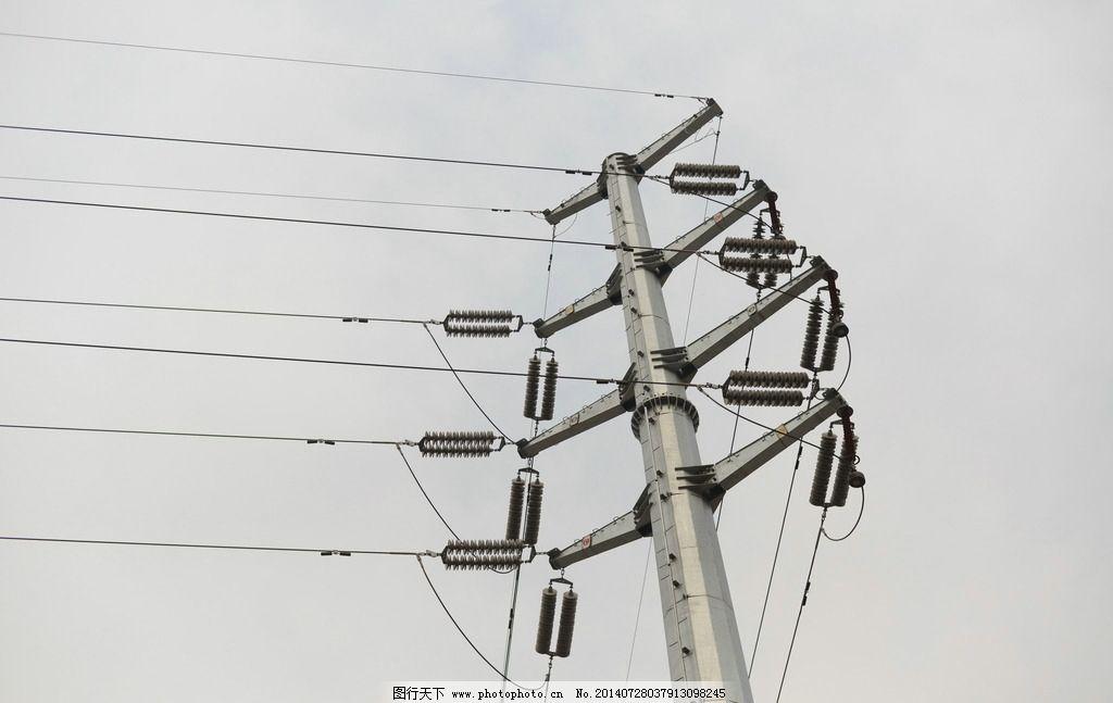 电力设施 电塔 高压电塔 电力塔 铁塔 高压电线 高压电线塔 电网 电线