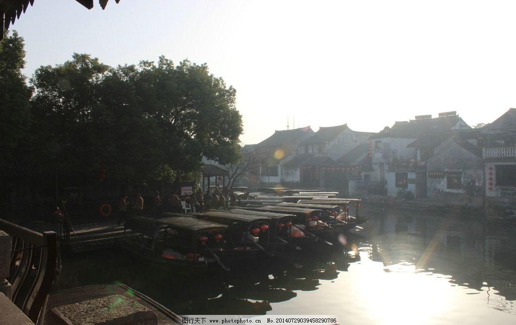 西塘乌篷船 西塘旅游 游船 嘉善 江南古镇 建筑摄影 建筑园林