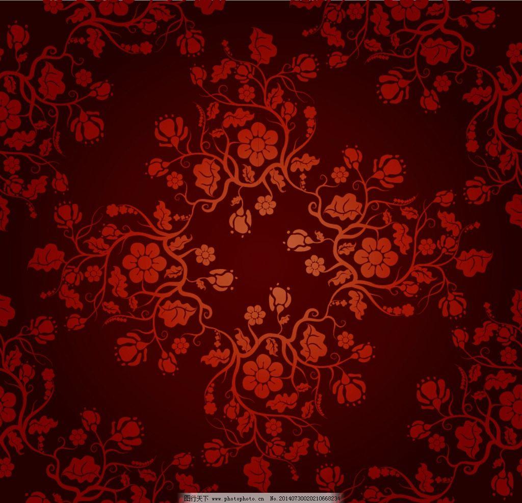 古典花纹 欧式 花纹  背景墙纸 简单花纹 边框底纹 现代 花纹背景