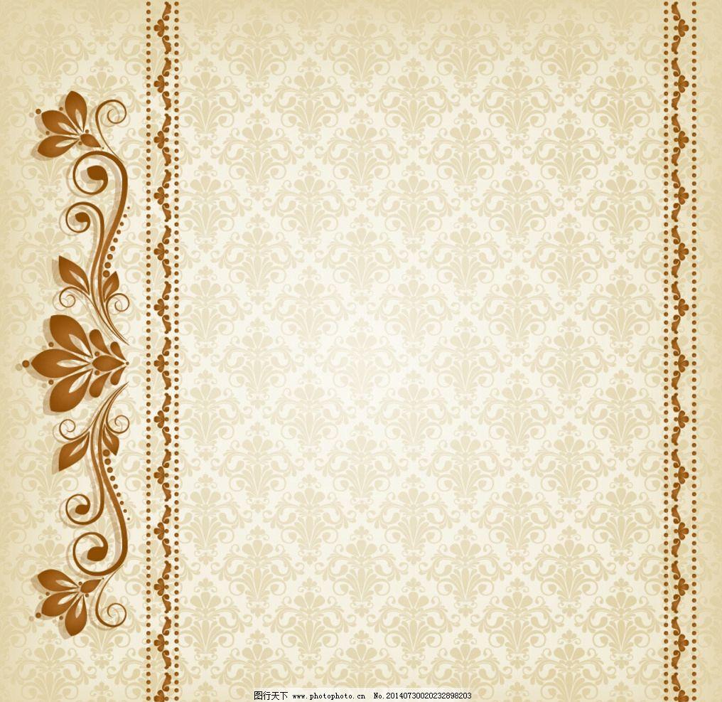 古典 边框底纹 背景墙纸 简单花纹 现代 古典花纹 欧式 花纹背景