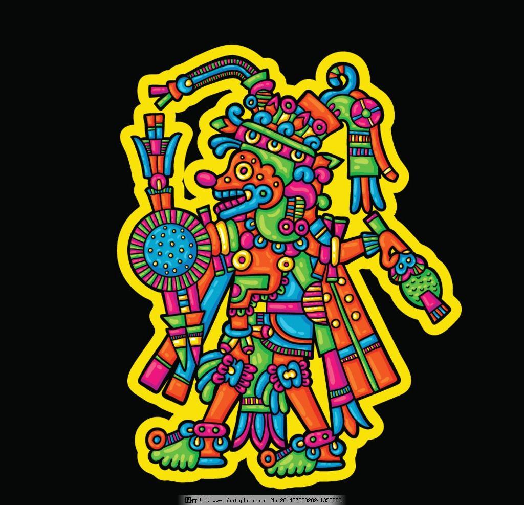 设计图库 界面设计 icon  玛雅符号 玛雅纹身 玛雅 古代 古老 手绘