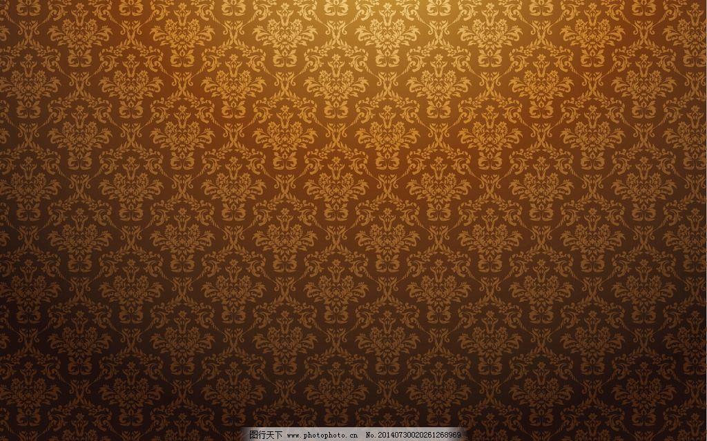 背景墙纸 简单花纹 古典 边框底纹 现代 古典花纹 欧式 花纹背景