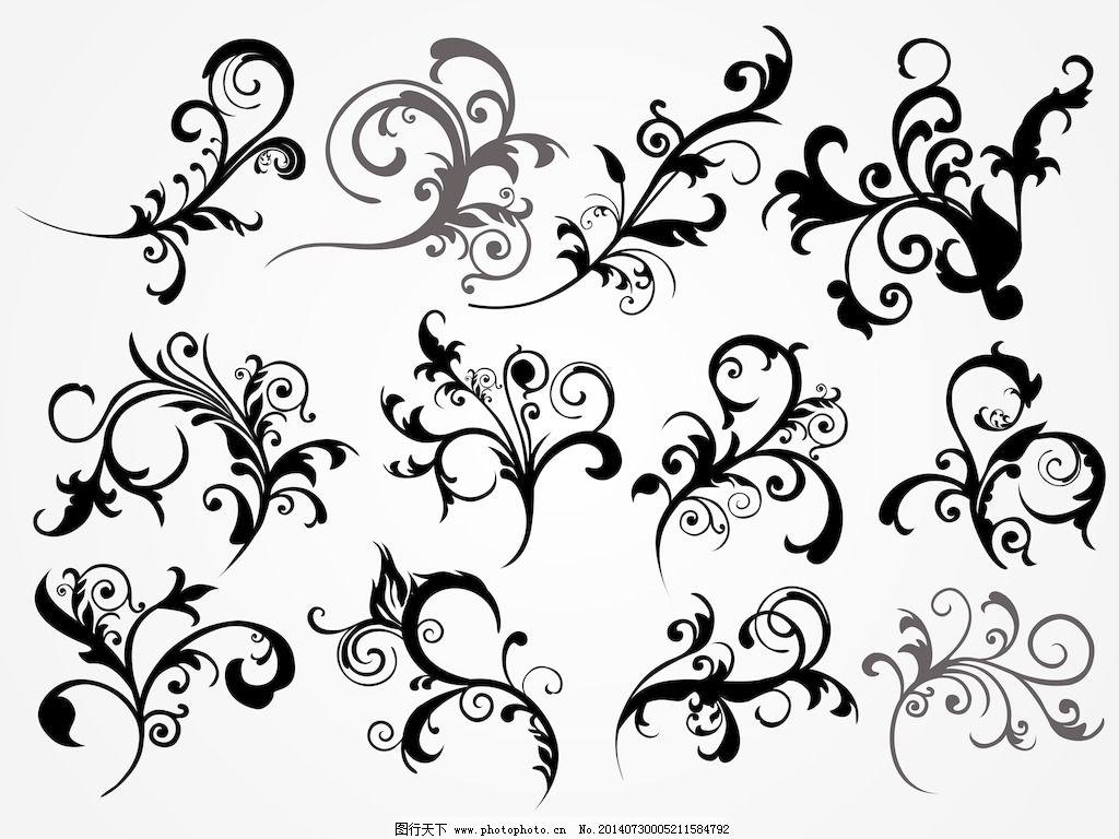 集复古纹身