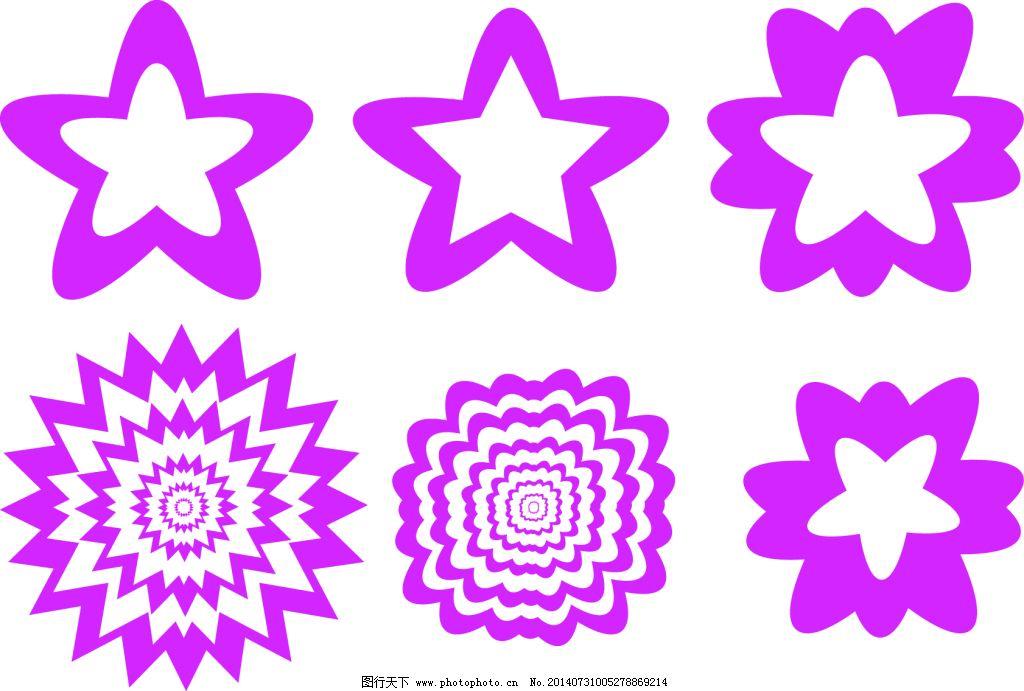 形状-花瓣矢量
