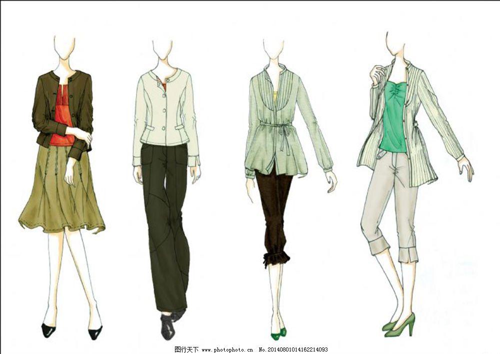 服装�:-+yl>[�~K�>K�_职业装系列 职业装系列免费下载 女装系列服装手绘稿 正装设计 手绘