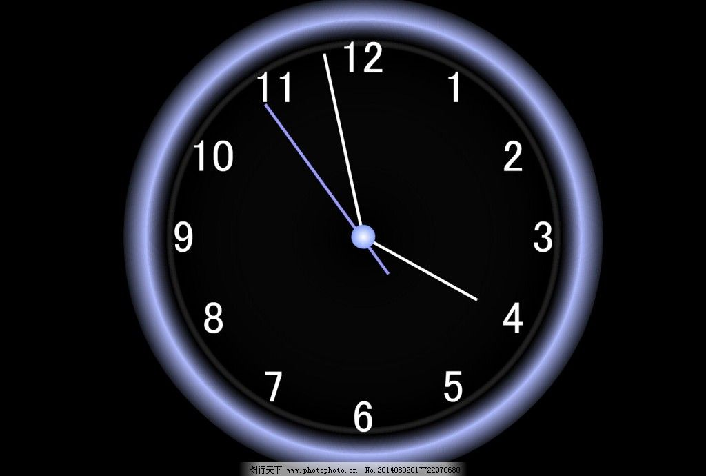 数字钟表flash动画