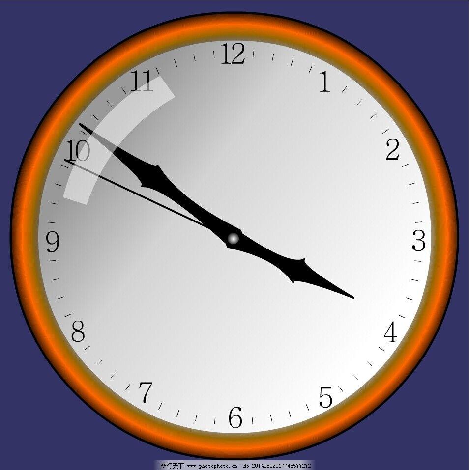 钟表flash动画 时钟 数字 计时器 秒钟 网页素材