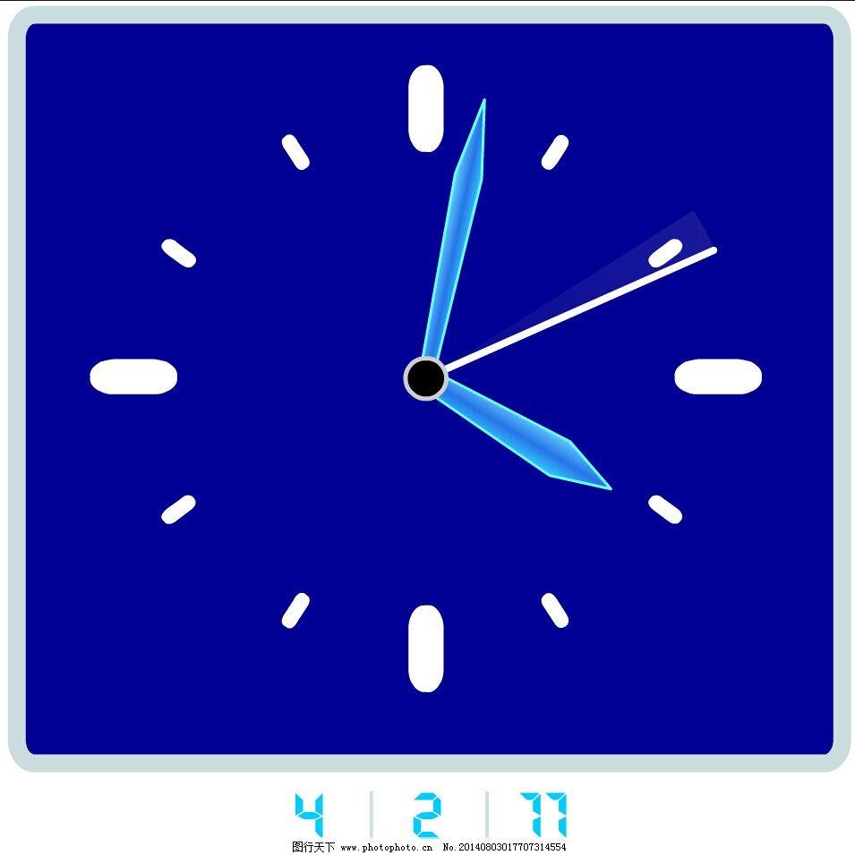 数字时钟免费下载 flash动画 flash动画素材 时钟 钟表 时钟 数字钟表