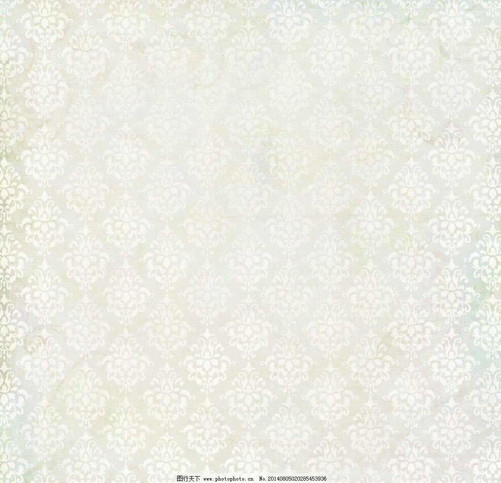 复古欧式花纹背景 背景 底纹 花纹 纹理 纸纹 纸张 布纹 浅色 米色