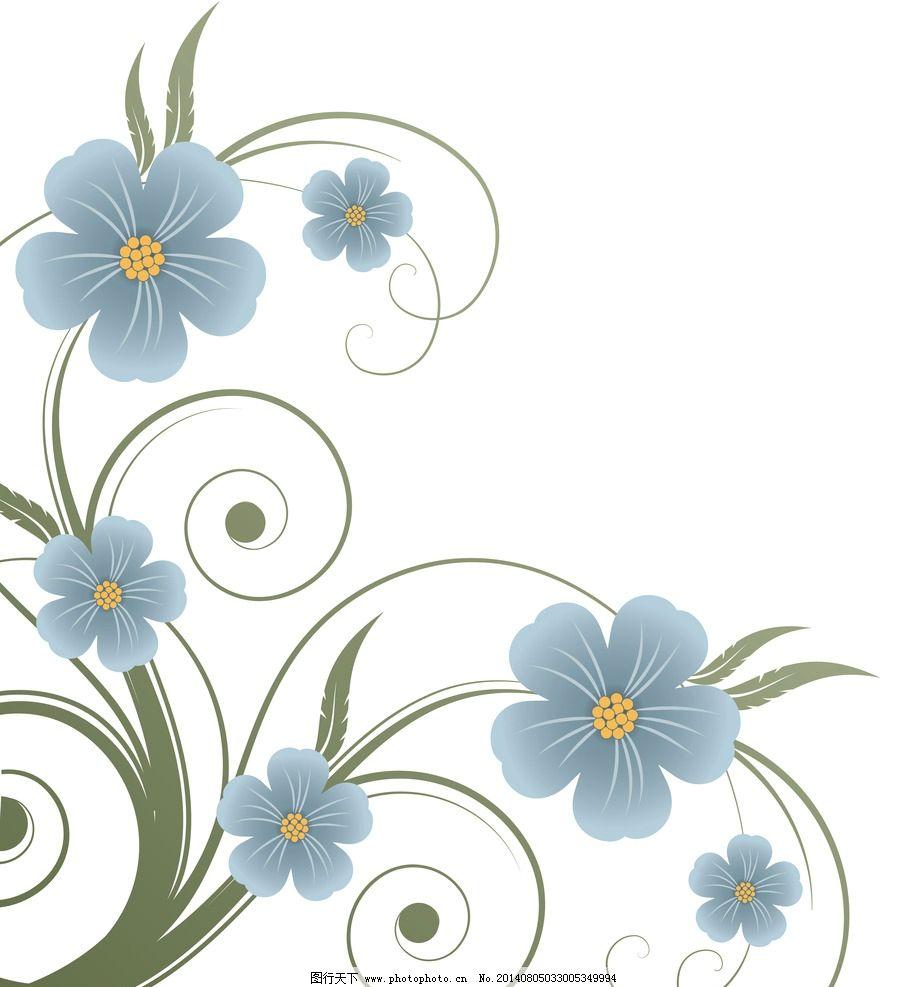 简介好看的边框图案-简洁背景花纹