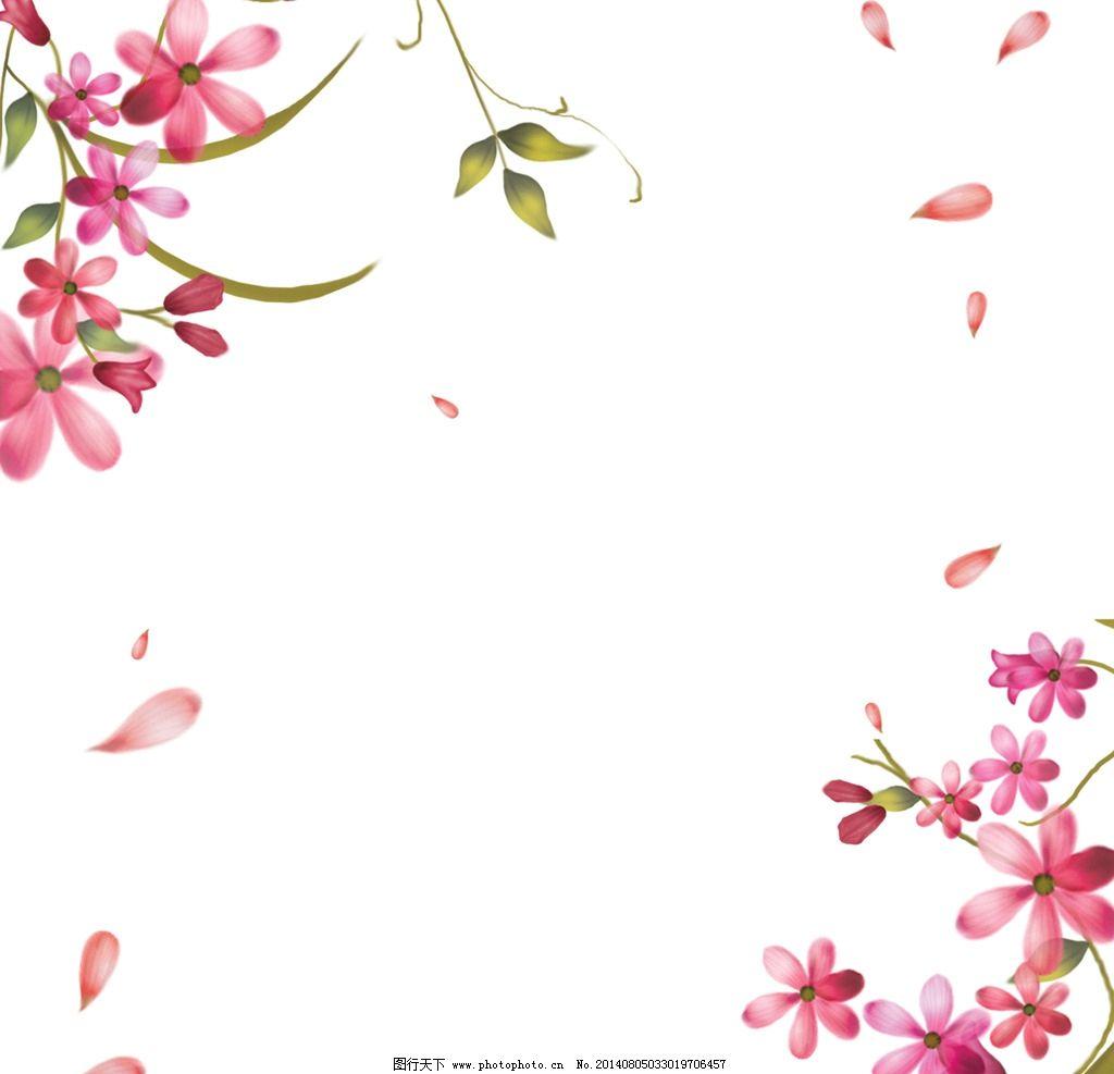 白色花边边框素材