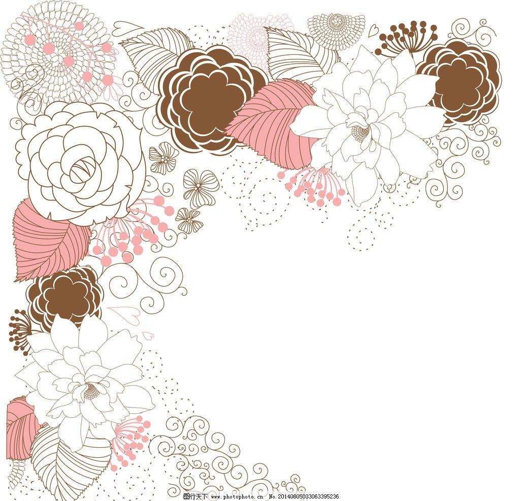 韩国手绘边框壁纸