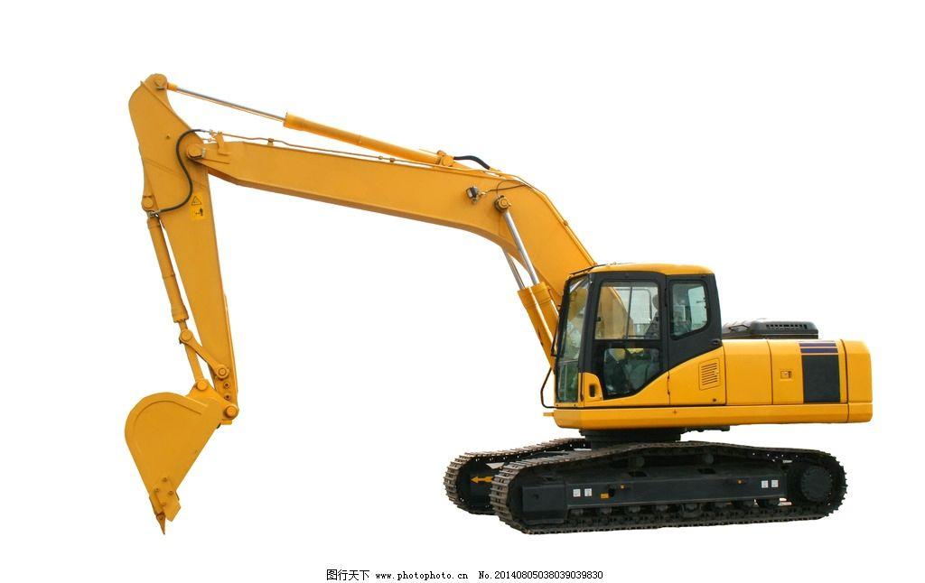 挖掘机 反铲挖掘机 机械 结构 排气阀 推土机 设备 工作 黄色