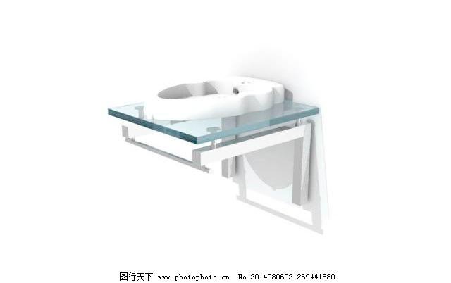 品牌家具3DMAX模型AntoninLupi洗手池1