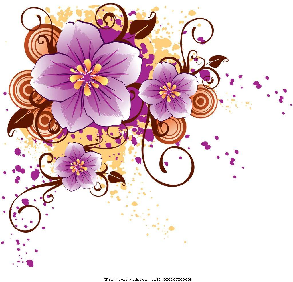 简单手绘樱花插图