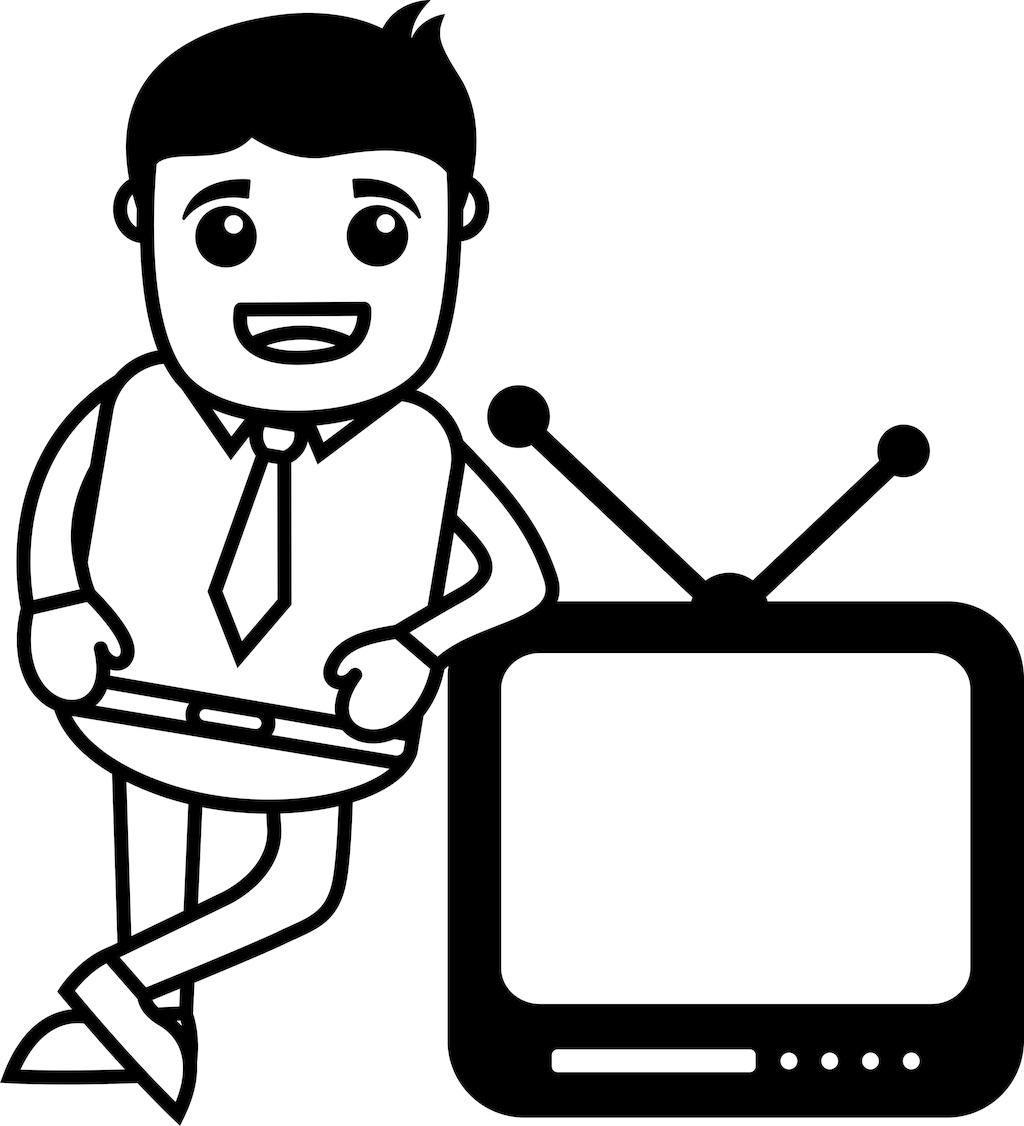 电视简笔画-第三个节目 跳长绳