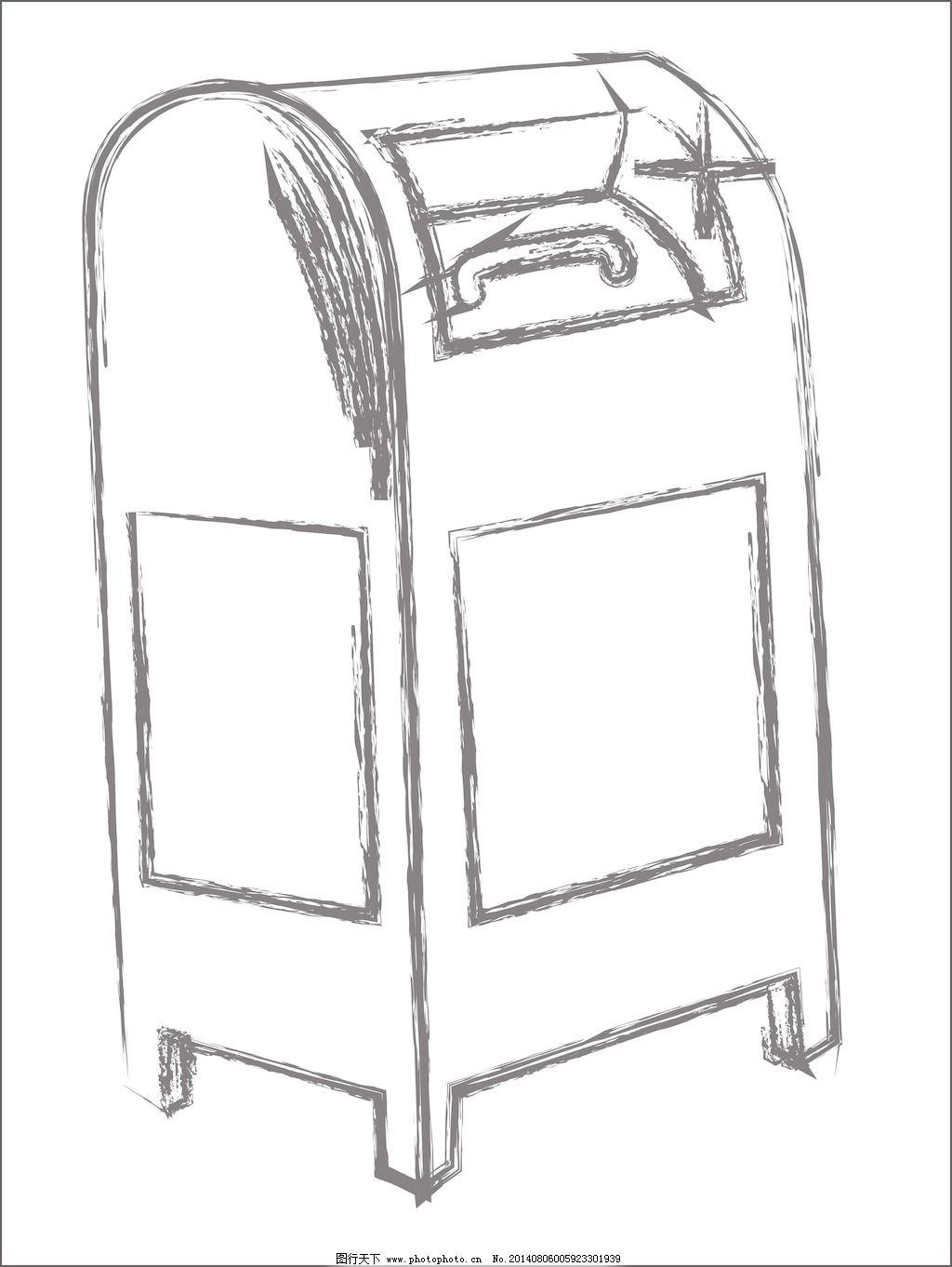 素描的商务,信箱的素描免费下载矢量图新闻金视频信箱庐江图片