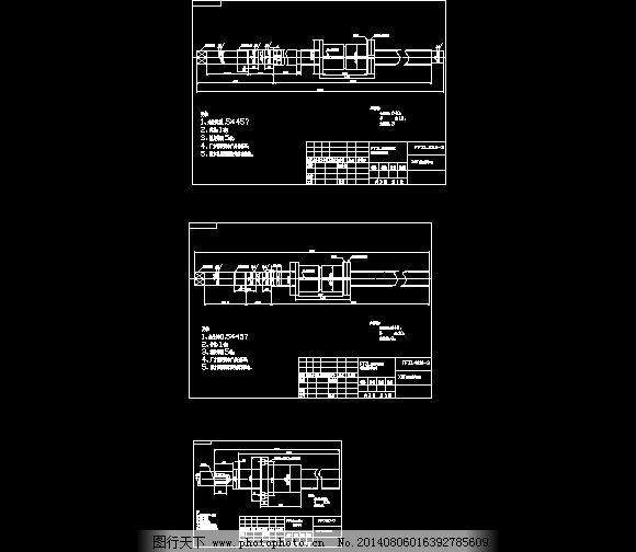 X3T数控铣床改丝杆图纸