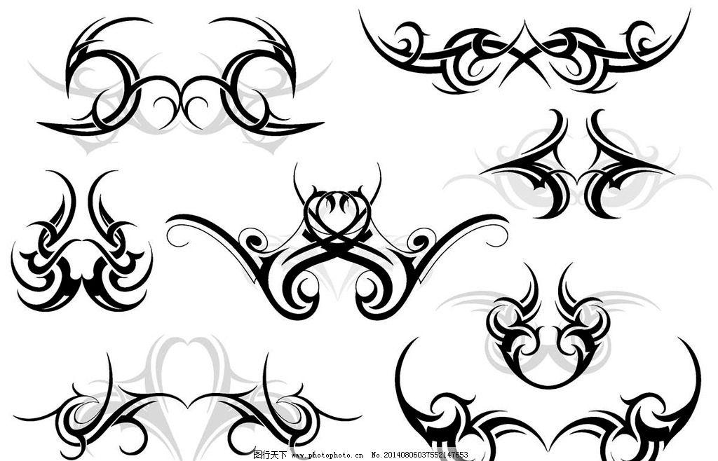 图腾美式纹身图案图片