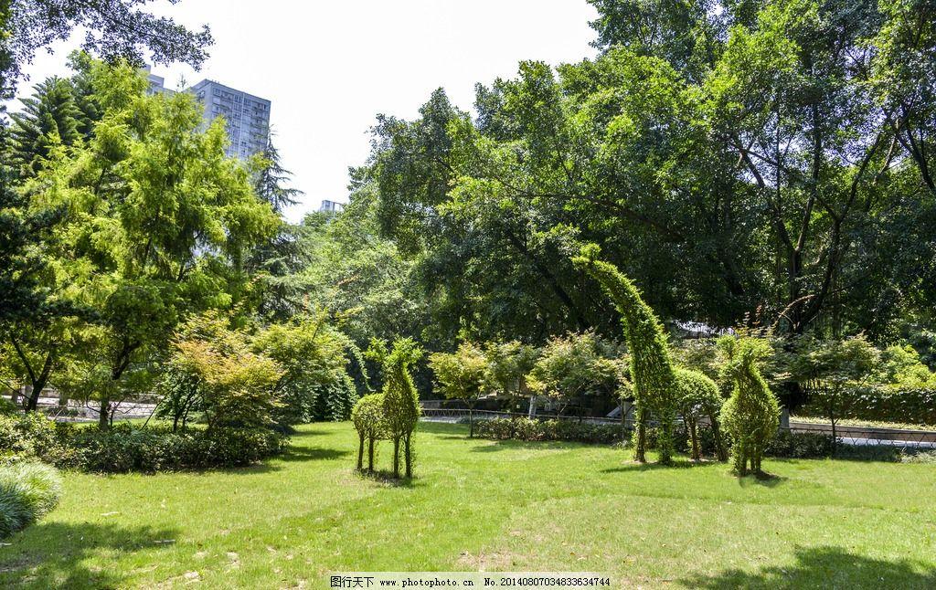 绿荫 树木 风景 草坪 美丽 自然风景 自然景观 摄影 300dpi jpg
