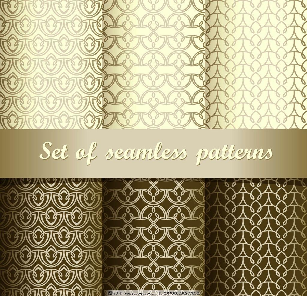 布纹花纹 手绘图案 花纹 华丽 精美花纹 欧式花纹 布料 花边 金色花纹