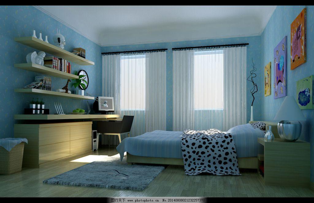 学生卧室图片