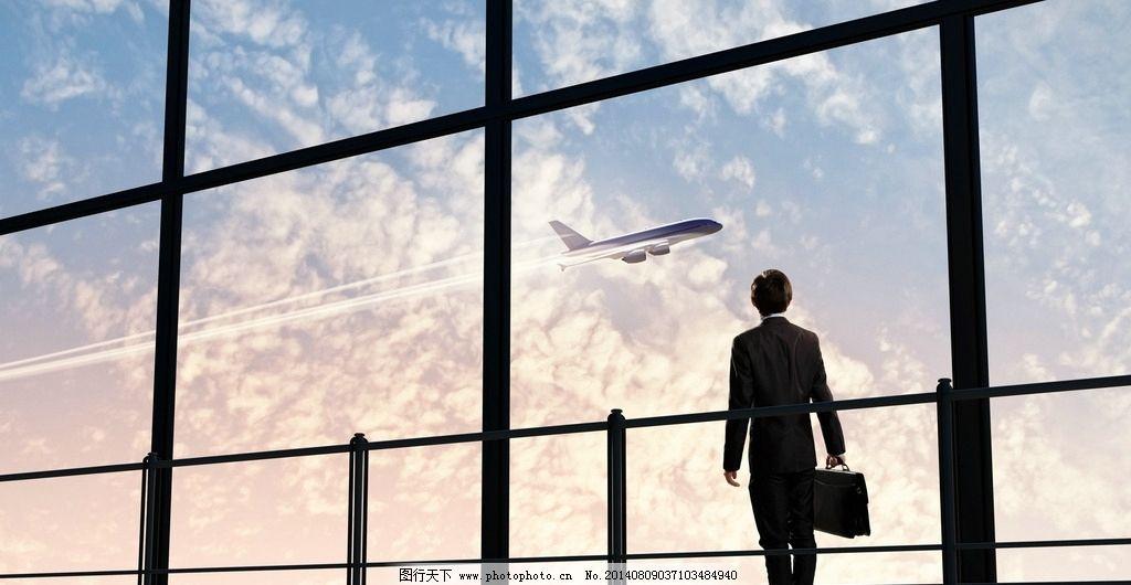 机场 商务 飞机 旅游 出差 办公 交通 休闲 娱乐 唯美 意境 清新 娱乐