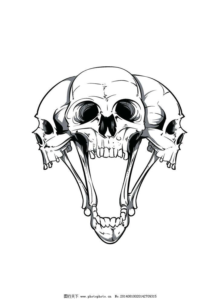 骷髅T恤图案设计 骷髅 skull 纹身图案 T恤设计 T恤花纹 服装设计 T恤 T恤样式 T恤款式 欧式卡通 欧式设计 欧美设计 服装图案 T恤图案 花纹图标 花纹设计 炫丽背景 复古设计 怀旧设计 卡通设计 广告设计 设计 EPS
