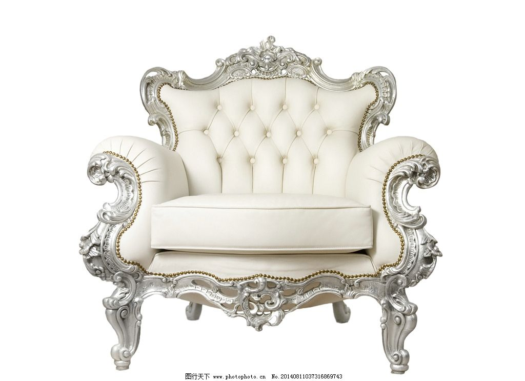 欧式奢华沙发高清素材图片