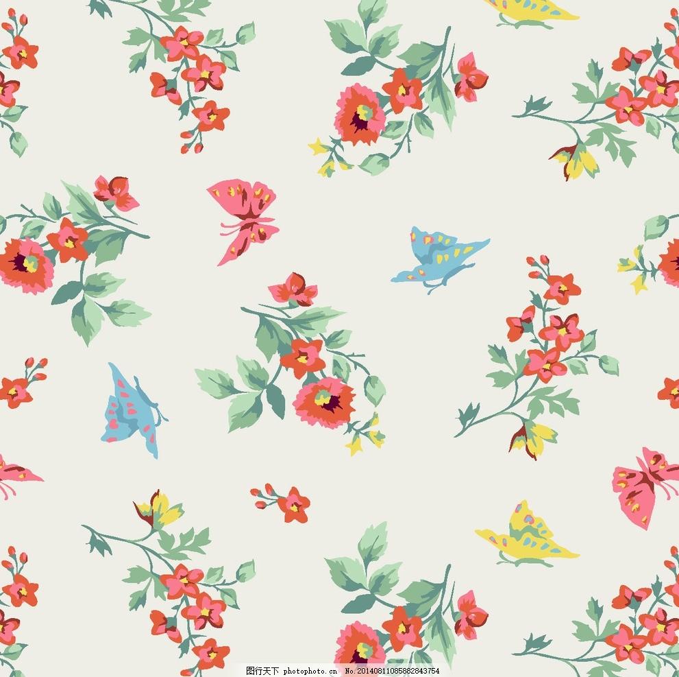 漂亮花卉,复古 经典 男 女 服装 毛衣 衬衫 连衣裙