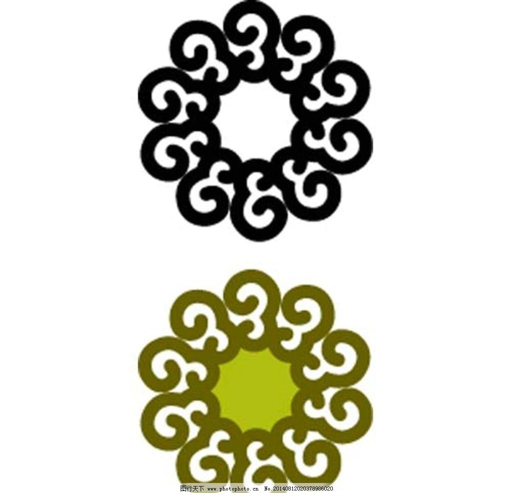 古典花纹图案 小圆花图案 中式古典花纹 古代花纹 古典花纹 圆形花纹图片