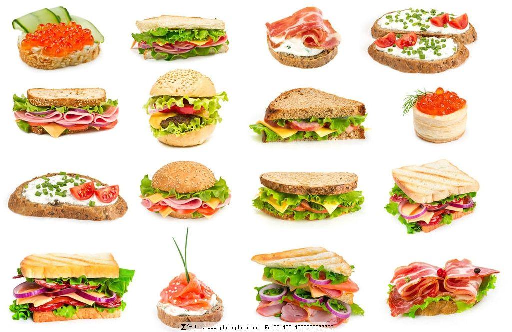 三明治快餐食品