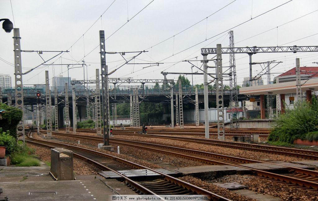 轨道 火车车轨 铁路 轨道线 电车 现代科技 交通工具 火车 电路 火车