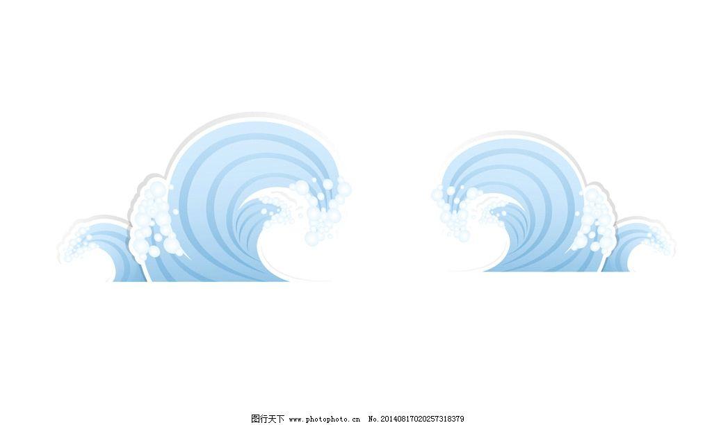 海浪简笔画步骤