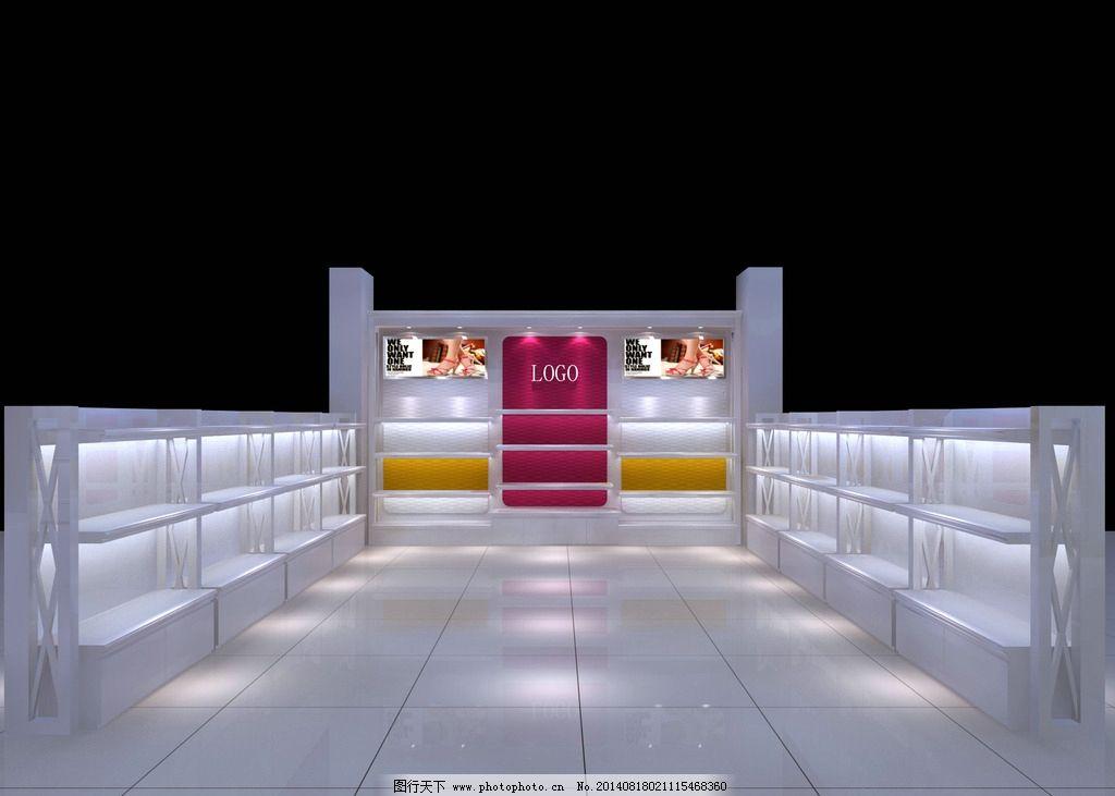 女鞋店效果图 皮具 店铺 女鞋效果图 店铺效果图 鞋店效果图 3d设计