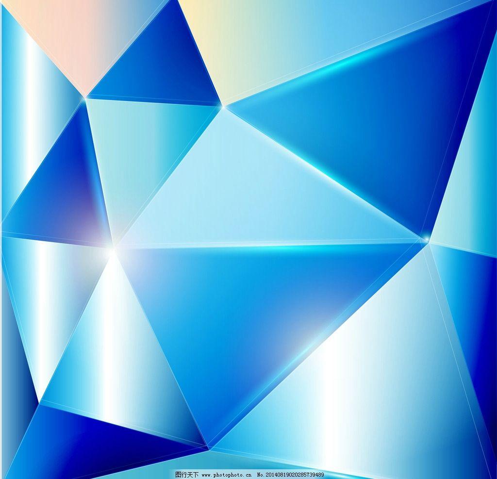 立体几何形背景 立体 几何形