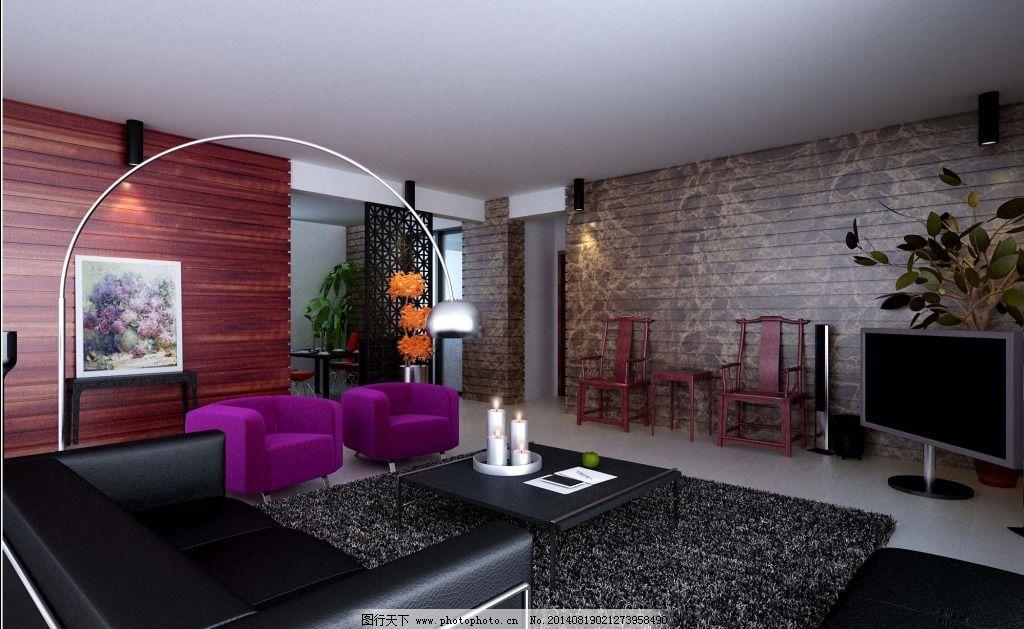 客厅 模型/创意另类客厅