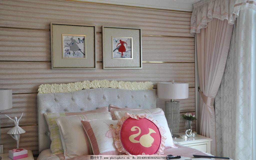 卧室 家居 家居图 欧式家居 儿童房 公主房 儿童卧室 装饰画