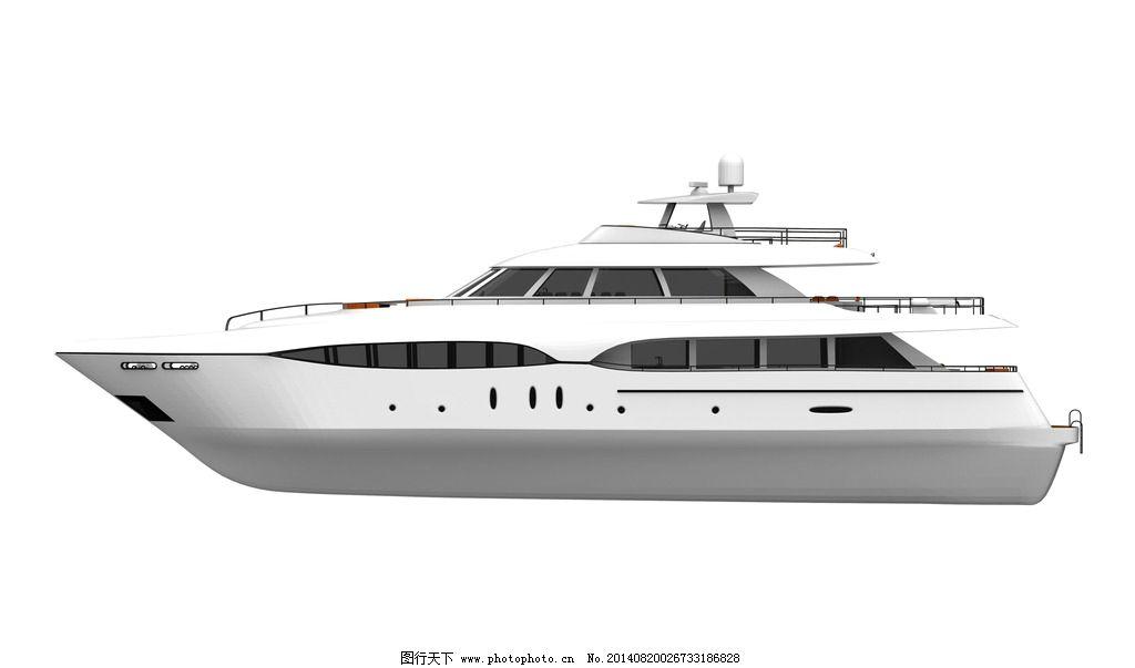 游艇 豪华游艇 快艇 海 海面 行驶 私人游艇 富豪 船只 交通工具 现代